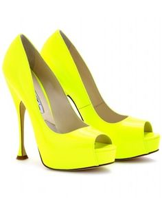 neon shoes want them