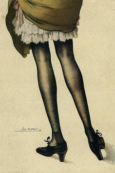 Naughty French Postcard  (circa 1920)