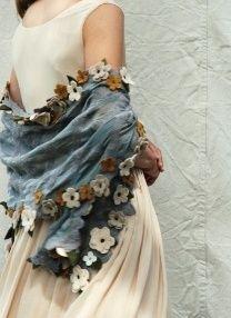 flower border, crochet flowers, border shawl, pretti shawl, cloth