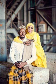 Somali Muslim couple