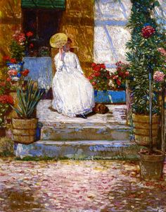 In the Sun  Frederick Childe Hassam