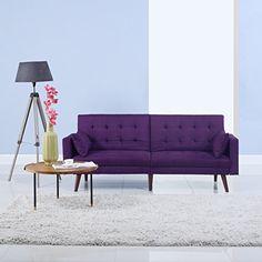 Modern Tufted Linen Splitback Recliner Sleeper Futon Sofa... https://www.amazon.com/dp/B01NGZBXPY/ref=cm_sw_r_pi_dp_x_3uJEybXW6ZZPN
