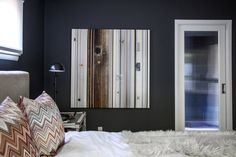 Paint colors that match this Apartment Therapy photo: SW 7510 Chateau Brown, SW 6005 Folkstone, SW 7665 Wall Street, SW 6258 Tricorn Black, SW 6261 Swanky Gray