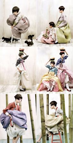 Hanbok  korean-vogue-kim-kyung-soo