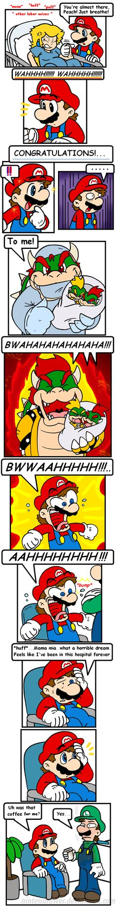 cake in the oven 8 by Nintendrawer How would Peach ever agree to become pregnant with bowser.... I mean really