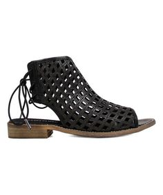 b97b62e89200 Musse   Cloud Black Aimy Leather Sandal