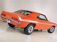 1969 Yenko Camaro. Moms dream car but not orange i don't think