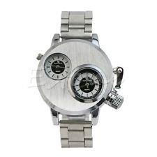 Men's Stainless Steel Date Military Quartz Analog Wrist Watch Watches New
