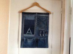 Vide poche Jeans récup pour Augustin par Martine Choureau