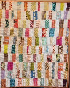 scrappy bar quilt use this for simple scrappy cat pads - Aurifil Thread Color Chart