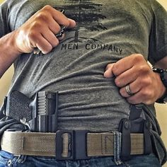 Belt, holster, knife