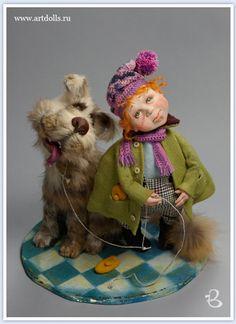 Anna Grigorieva. Author's doll