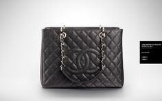 b55fdbeb6d79 Chanel GST/Grand Shopping Tote The Chanel grand shopping tote, also called  the GST is equally famous as the Chanel classic flap bag.