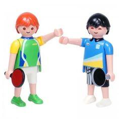 Playmobil - Sports & Action - Jogadores de Tênis de Mesa - 5197 - OK