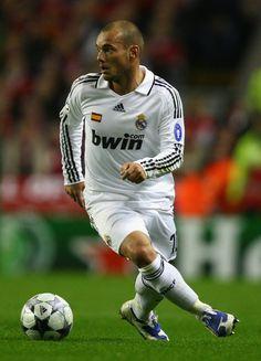 Wesley Sneijder of Real Madrid
