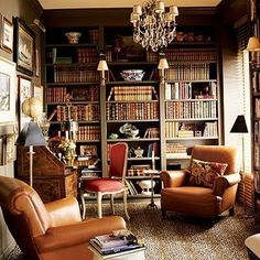 Small library room ideas home library furniture finding the perfect cozy bookshelves throughout design small decorating . Cozy Library, Dream Library, Beautiful Library, Library Study Room, Future Library, Library Design, Mini Library, Attic Library, Vintage Library