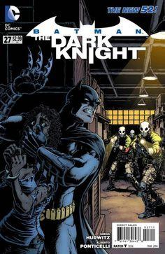 The cover to Batman: The Dark Knight #27 (2014), art by Chris Burnham & Nathan Fairbairn