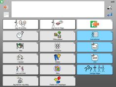 Widgit Go SE - Symbolbruket Learn Swedish, Swedish Language, Learning, Studying, Teaching, Onderwijs