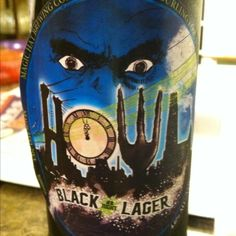 Magic Hat Howl has an incredibly striking #beer label. Intense! #craftbeer.