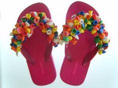 cute flip flop idea