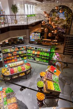 Gourmet Food Emporium Supermarket Interior Design