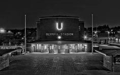 Berlin | 1933-45+. Bahnhof U-Bahn Olympische Stadion