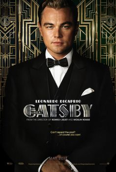 Gatsby himself, Leonardo Dicaprio. (Man, does he look good in a tux!)