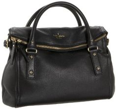 Kate Spade Cobble Hill Small Leslie Convertible Satchel - Black Primary tabs