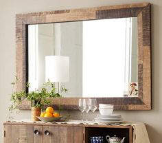decor reclaimed wood mirrors7 HomeSpirations