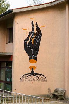 Street art by Basik #basik #streetart #art