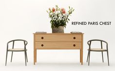 Meet our restyled Paris Half Chest, now with refined details, a strong and elegant look.