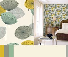 Contemporary wallpaper for your home. It's funny how we all use the exact same type of wallpaper for our website backgrounds.