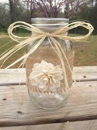Mason jar wedding centrepieces - Google Search