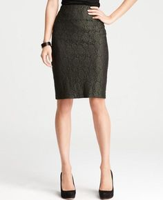 pencil skirts never go out of style! this pic shows good length (slightly above the knee)