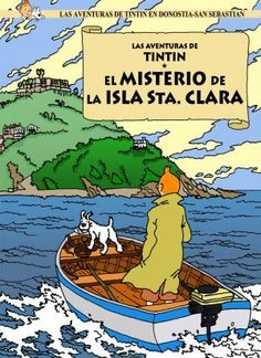 """Tintin wander the streets of San Sebastian The adman Oscar Alonso places the mythical hero of the comic classic scenarios Donostia. """"It's just a game, my tribute to a legend,"""" says the artist Classic Cartoon Characters, Classic Cartoons, Comic Book Artists, Comic Books, Tin Tin Cartoon, Album Tintin, Librarian Humor, Captain Haddock, Herge Tintin"""