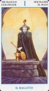 The Magician Tarot Card - Secret Tarot Deck