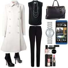 Olivia Pope Inspired by mzmann on Polyvore featuring мода, MICHAEL Michael Kors, N°21, Ted Baker, Prada, Movado, Oasis, Bobbi Brown Cosmetics, HTC and ScandalThursday