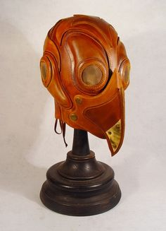 Plague Mask, Plague Doctor Mask, Steampunk Armor, Post Apocalyptic Costume, Leather Mask, Burning Man, Leather Working, Leather Craft, Bob