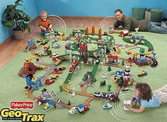 fisher price geotrax train set instructions - Google Search