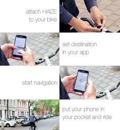 Haize is a smart device that lets you set your own adventure without getting lost. Minimal, simple and easy to use. All you have to do is set your destination in their APP and go your own way. Check out their page on Kickstarter. | THE UT.LAB | Supports Cool Kickstarter Projects *