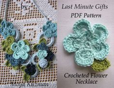 Sewella WW PDF Crochet pattern giveaway  Crocheted Necklace PDF Pattern - Crocheted Necklace Tutorial - Last Minute Gifts Series - Instant download via Etsy