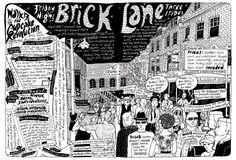 Brick Lane from Badaude's London Walks