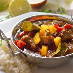 Easy Mango and Chicken Curry. Delicious dinner! (scroll down for recipe in English)