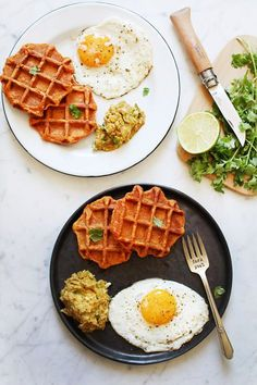 Healthy Drinks, Healthy Eating, Healthy Recipes, Healthy Food, What's For Breakfast, Breakfast Recipes, Waffle Pizza, Food Sketch, Good Food