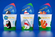 Warm Me Kid's Yogurt on Packaging of the World - Creative Package Design Gallery