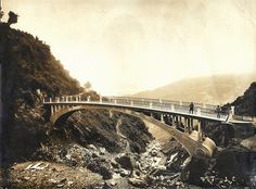 Bridge at Victoria Falls, Darjeeling (1912)