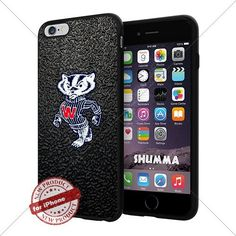 "NCAA Wisconsin Badgers Cool iPhone 6 Plus (6+ , 5.5"") Smartphone Case Cover Collector iphone TPU Rubber Case Black SHUMMA http://www.amazon.com/dp/B013ZPBY9C/ref=cm_sw_r_pi_dp_YGvkwb0QWKRXM"
