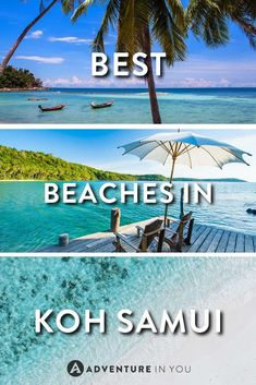 Koh Samui, Thailand | Looking for the best beaches in Koh Samui? Here is our guide on the best beaches to help you decide on where to stay and relax while in Koh Samui: