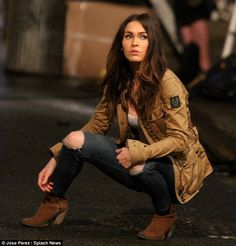 More in the works? Reports have claimed the actress is in talks to star in the fifth instalment of the Transformers franchise