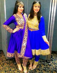 ⚜PINTEREST ELEGANT POINT⚜ More Pakistani Outfits, Indian Outfits, Lovely Dresses, Stylish Dresses, Afghani Clothes, Dress Outfits, Fashion Dresses, Afghan Girl, Rajputi Dress